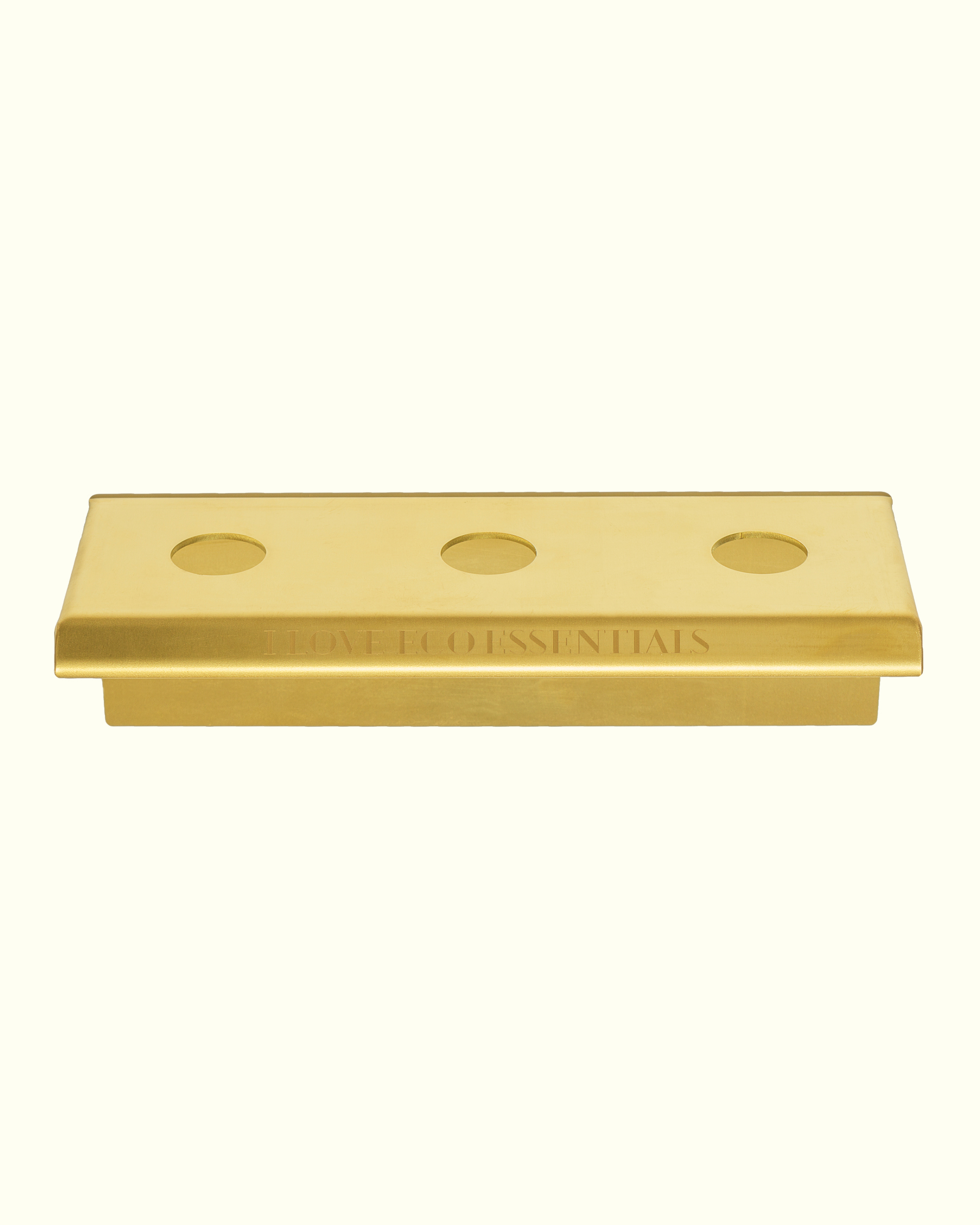 BRASS HOLDER 'for three products'