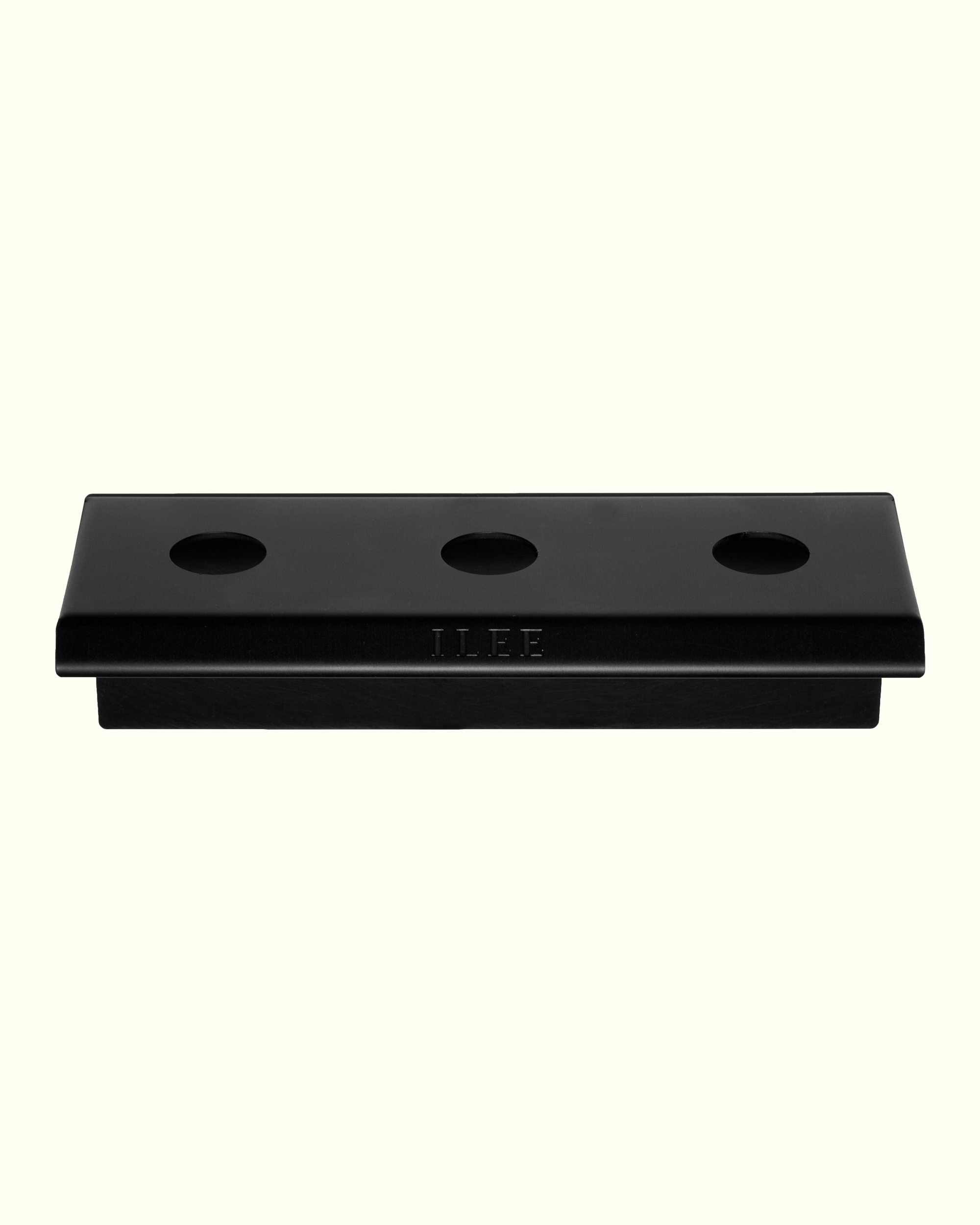 MATTE BLACK HOLDER 'for three products'